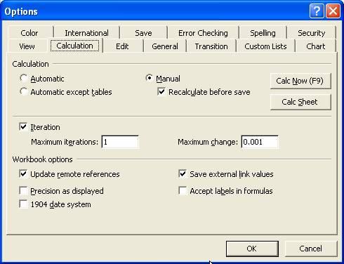 Microsoft Excel Tutorials: Iteration