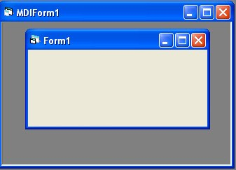 Visual Basic Tutorial: MDI form