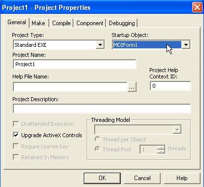 Visual Basic Tutorial: MDI form